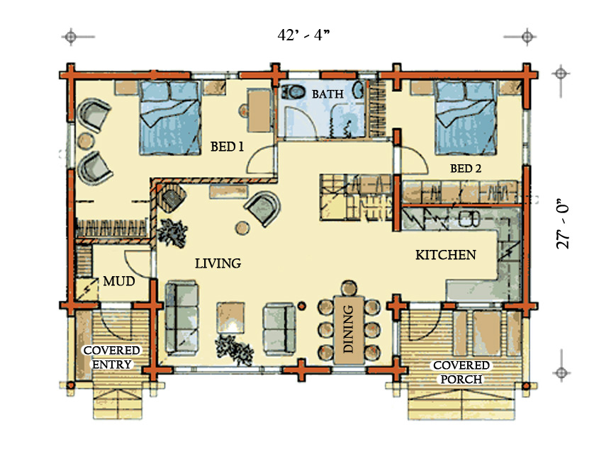 Log Homes Floor Plans Colorado House Design Plans